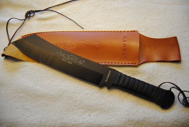 Rambo Messer 4 Machete replika