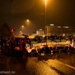 Demo vom Startpunkt Arnulf-Klett-Platz