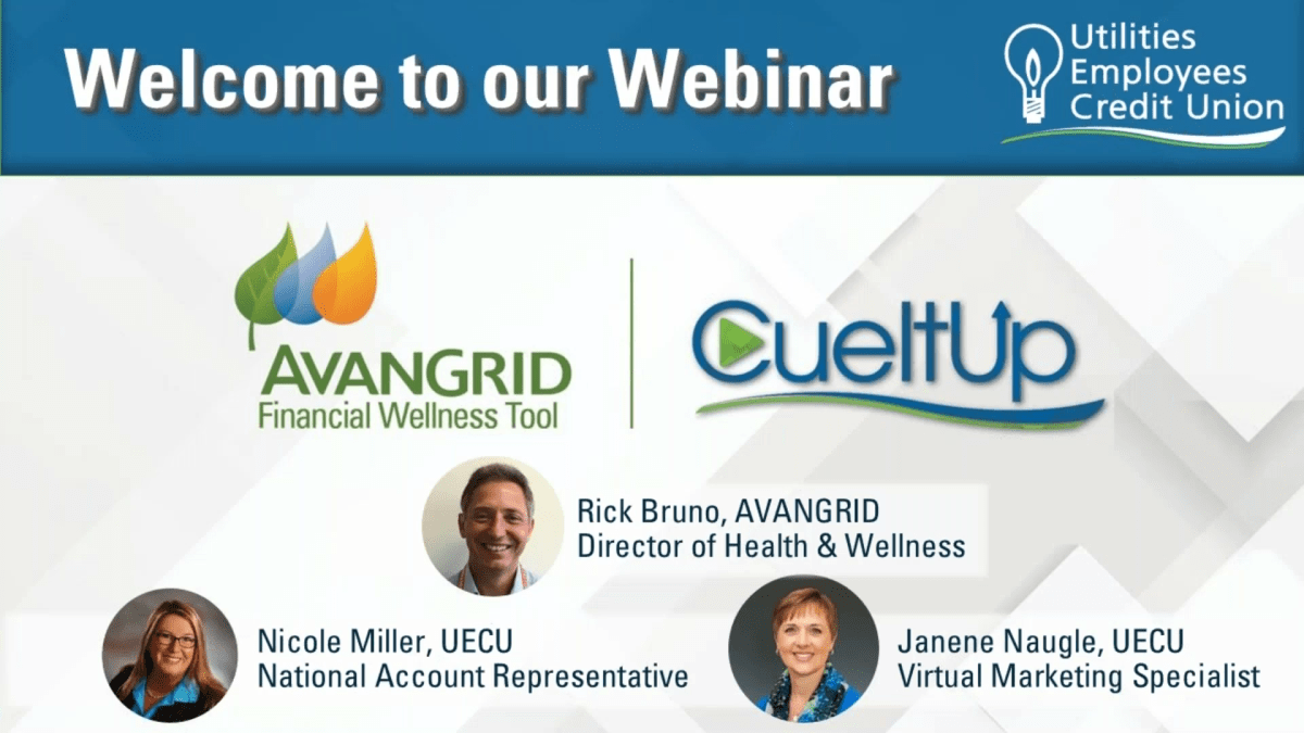 Image for recording of CueItUp Introduction Webinar for AVANGRID employees