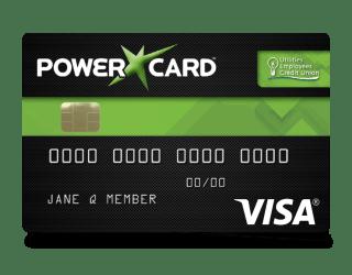A Sample Visa Powercard