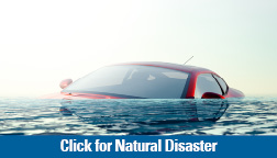 Natural Disaster Loan image of a flooded car