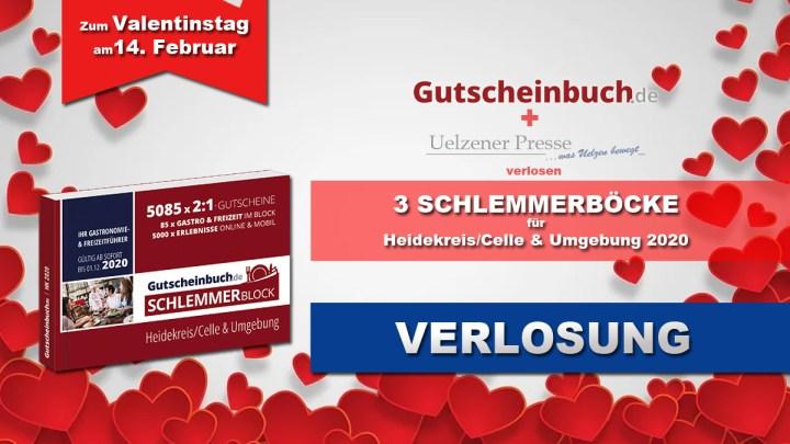 Schlemmerblock-Valentinstag-Verlosung
