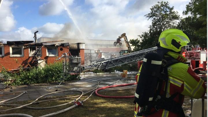 Großbrand an der IGS Embsen: Kein Unterricht mehr vor den Sommerferien
