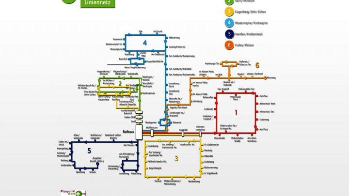 Änderung an der Stadtbuslinie 4 in Westerweyhe