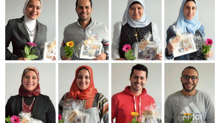 Examinierte Pflegekräfte aus Ägypten verstärken die Teams der Stationen