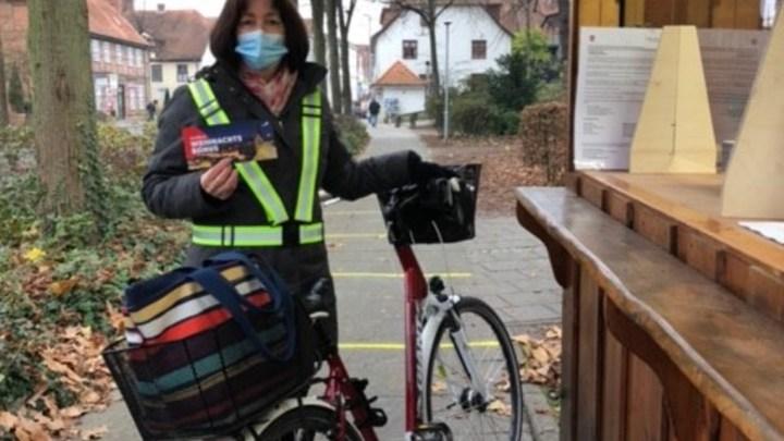 Unterstützung, die ankommt: Fast 660 Radfahrer holen sich am ersten Aktionssamstag ihre Gutscheine ab