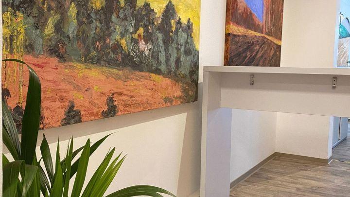 "Projekt ""Kunsträume"" gestartet. Münchbach Ausstellung bis September"
