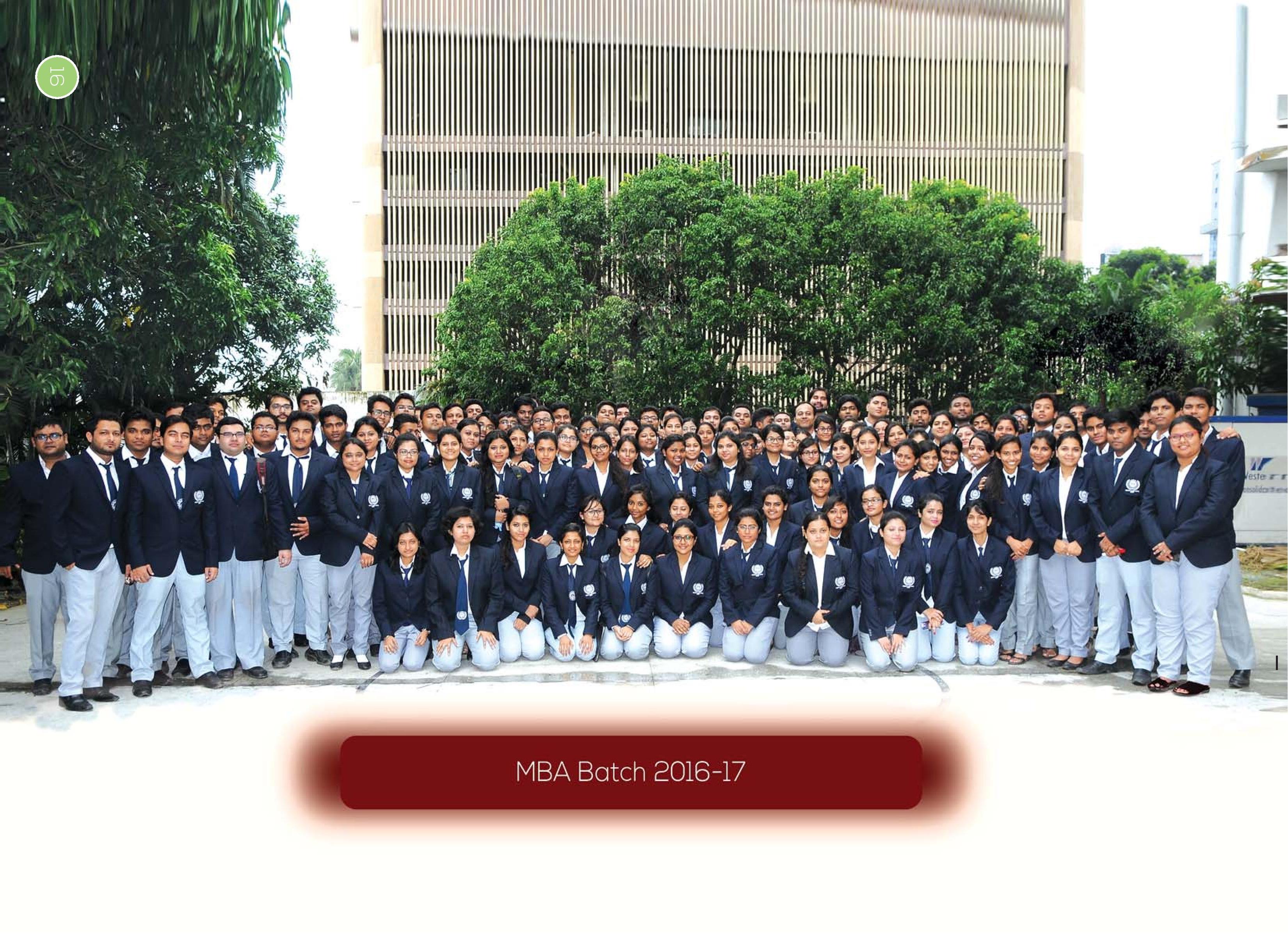 Current MBA batch