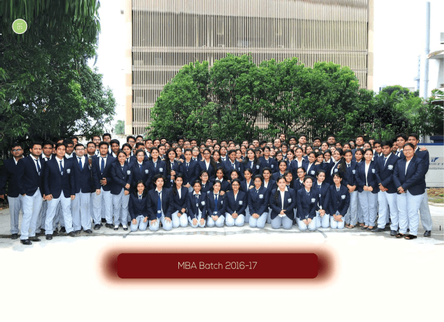Current MBA batch