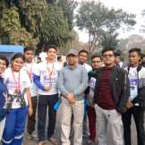 BHM students participated in IEM UEM Marathon – 2019