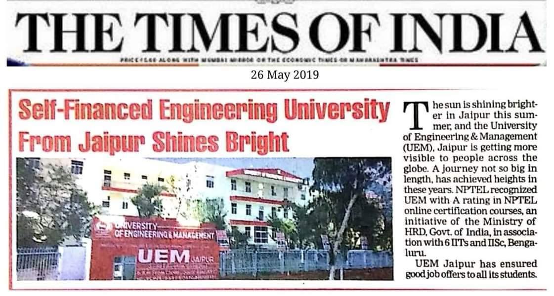 Press Releases Archive - UEM Jaipur