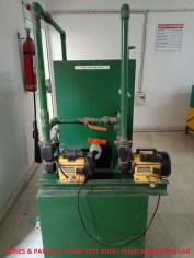 Series & Parallel Pump Test Rig