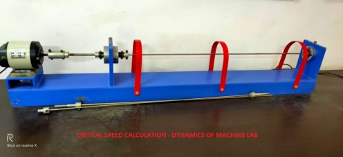 Calculation of Critical Speed of Shaft