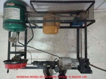 Model of Air Brake
