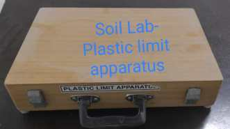 Plastic Limit Apparatus