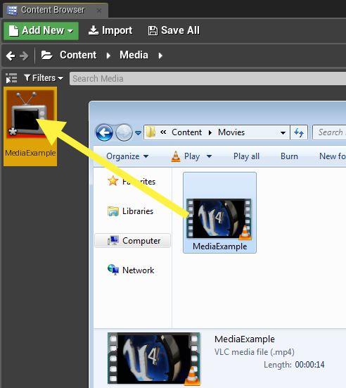 Unreal Engine 4 • » Media Framework