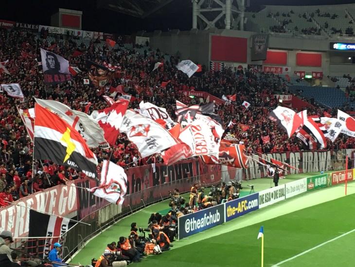 浦和レッズのACLグループステージ 対FCソウル戦を観戦してきた