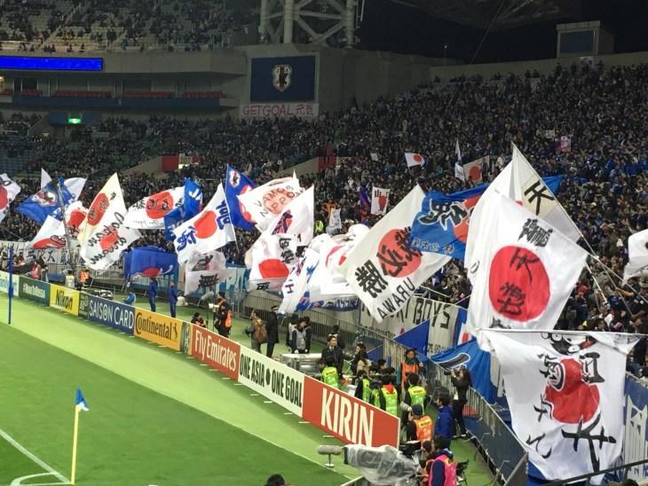 くるりん@埼玉スタジアム サッカー日本代表 W杯最終予選でタイに快勝!