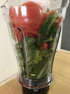 小松菜 トマト スムージー