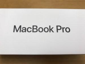 MacBook Pro 2016 箱