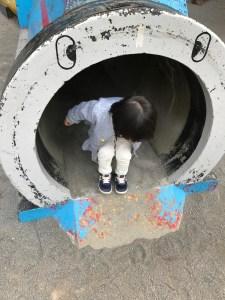 恵比寿公園 トンネル