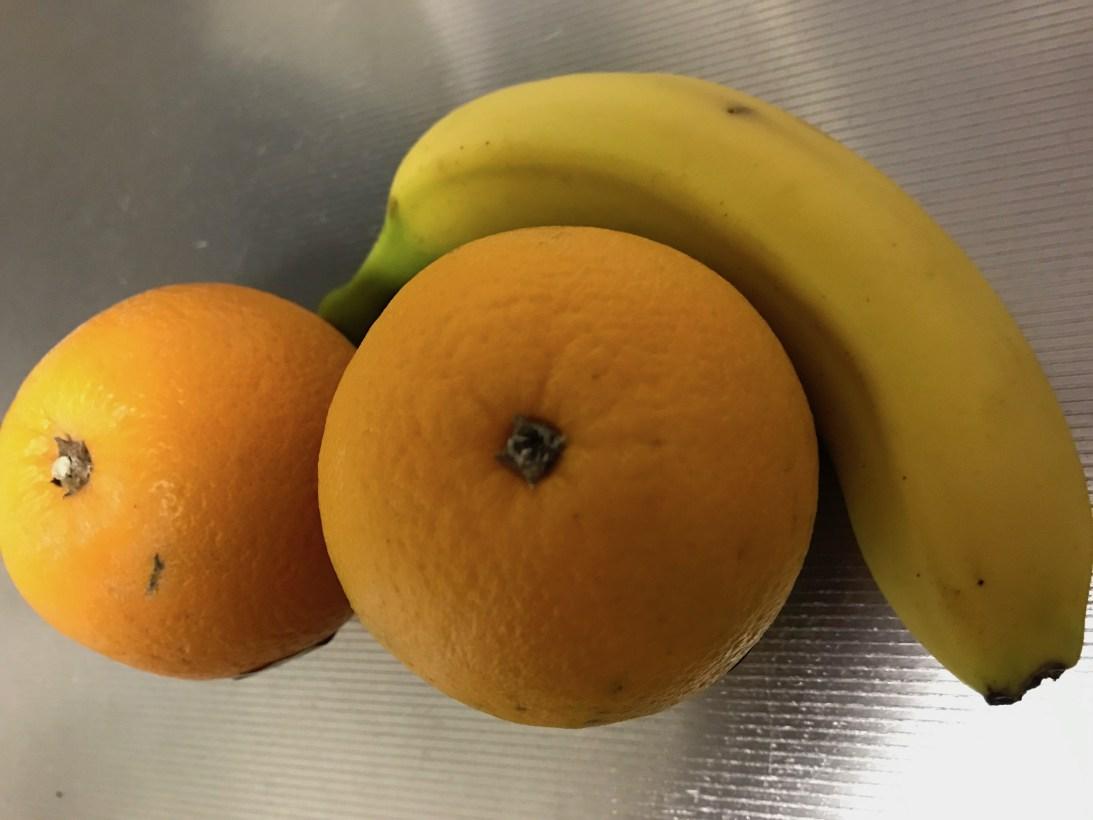 今日のスムージー 2017.05.08. オレンジとバナナのイエロースムージー