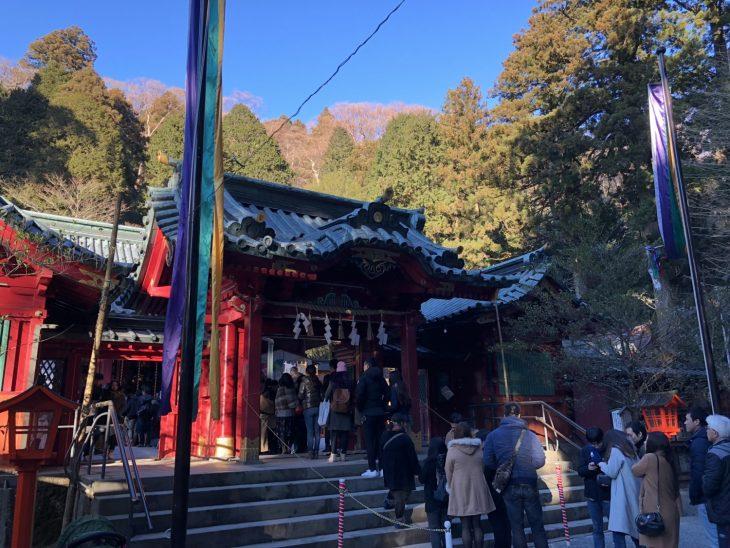 箱根神社と九頭龍神社の両社参り 特に九頭竜神社の「九頭竜みくじ」は、必ず引いて確かめています