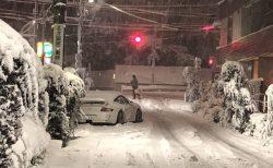 1月22日 都内大雪