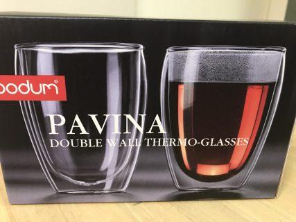 BODUM ボダム PAVINA ダブルウォールグラス 350ml (2個セット