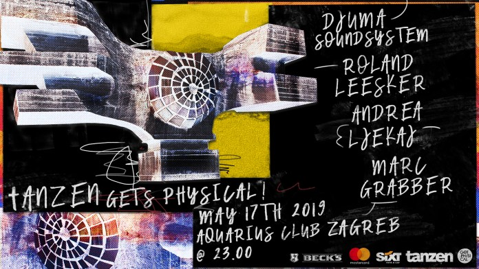 Ovog petka Djuma Soundsystem i Andrea Ljekaj predstavljaju Get Physical premijerno u Zagrebu! 11
