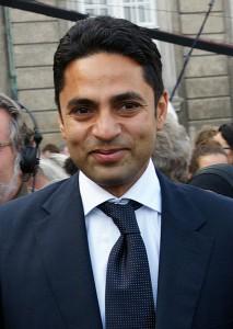 Guru og akademileder Manu Sareen (foto: Mogens Engelund).