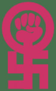 kvindetegn_feminisme_nazisme_kvindernes_internationale_kampdag