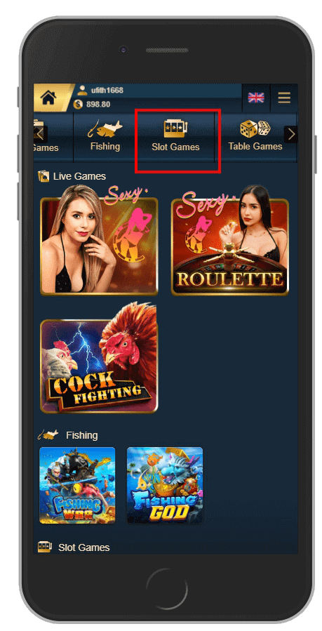 slot game บน Game Hall UFABET