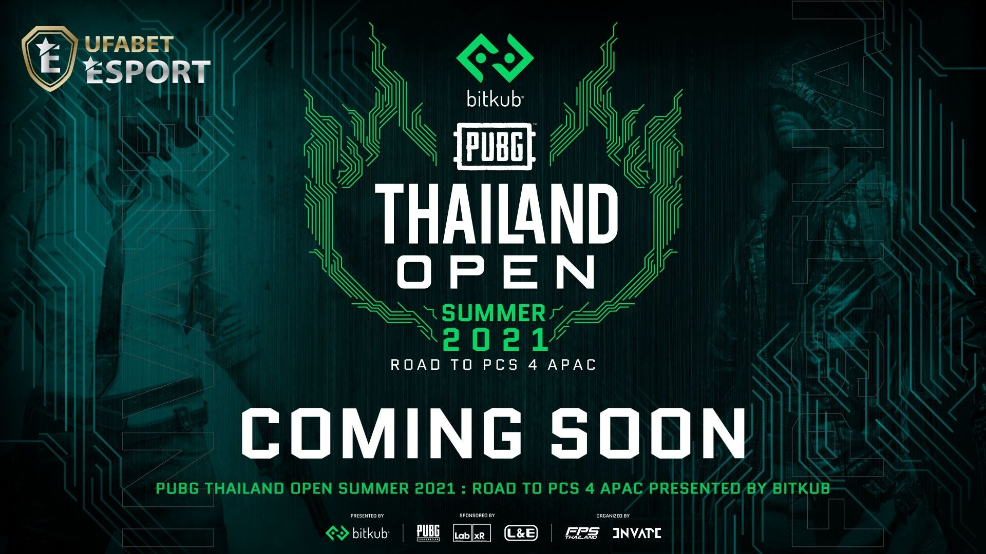 PUBG Thailand Open Summer 2021 : Road to PCS 4 APAC