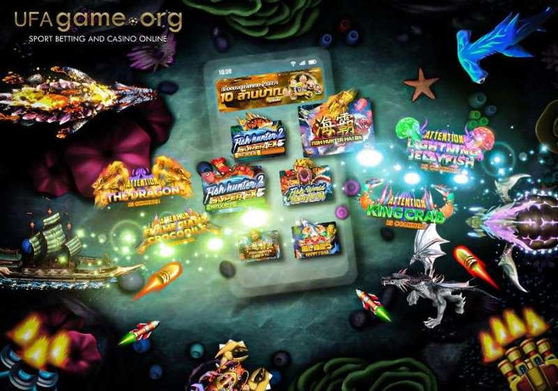 Joker Gaming Fishunter version mobile & ipad