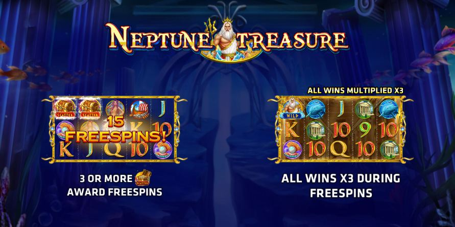 Neptune Treasure Joker Gaming