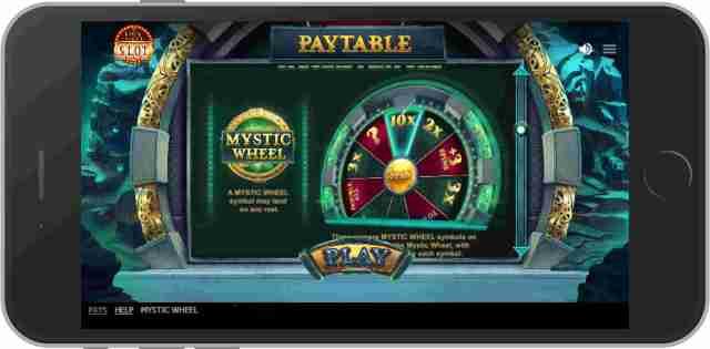 Mystic Wheel วงล้อนำโชค เกมสล็อต RT