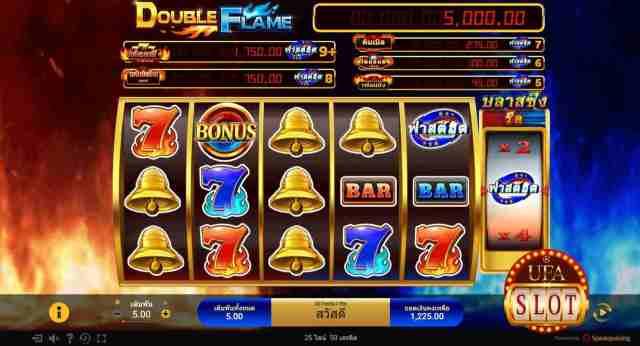 เกมสล็อตค่าย SG Double Flame