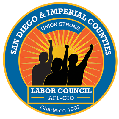 San Diego Imperial Co Labor Council logo