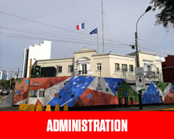 Administrations UFE Pérou