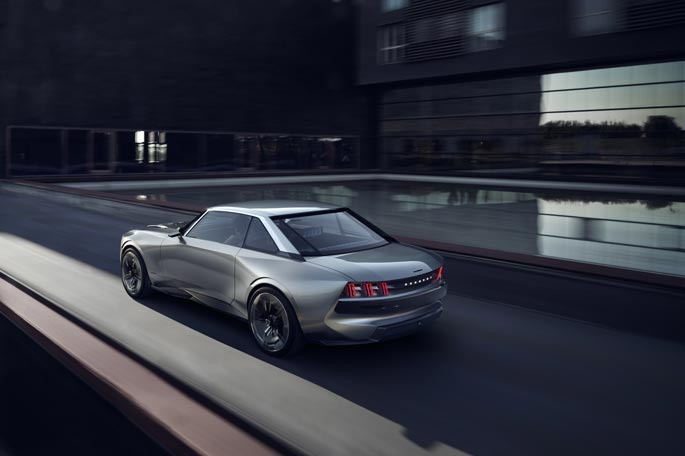 Peugeot Concept e-Legend - UFE Pérou