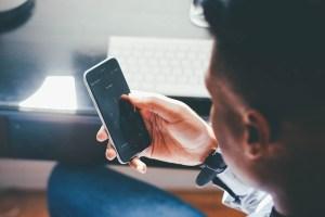 Smart working smartphone