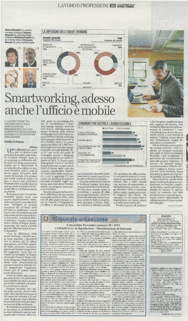 Smartworking spazi condivis