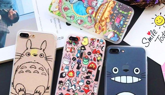 Carcasas Totoro MangaCorta