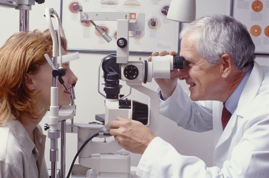 a CVS látás helyreállításának trombózisa