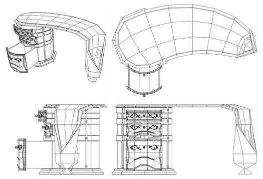 bureau filaire