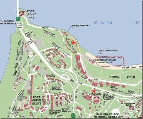 Sharktoberfest Parking Map-2014