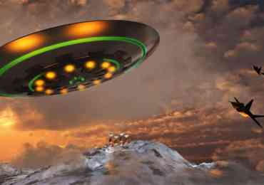ufo chased by military