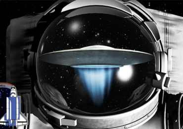 ufo seen by astronaut