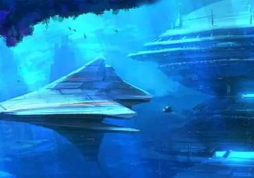 alien underwater base